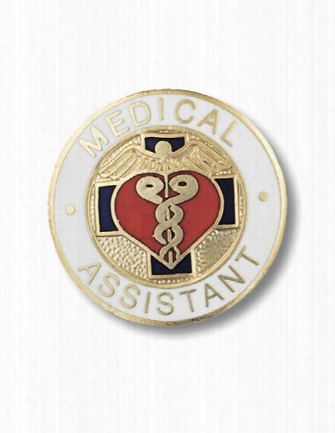 Prestige Medical Prestige Medical Medical Assistant Pin - Unisex - Medical Supplies