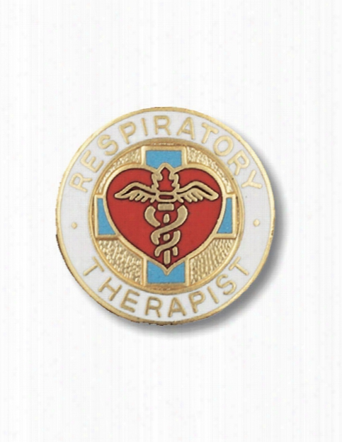 Prestige Medical Prestige Medical Respiratory Therapist Pin - Unisex - Medical Supplies