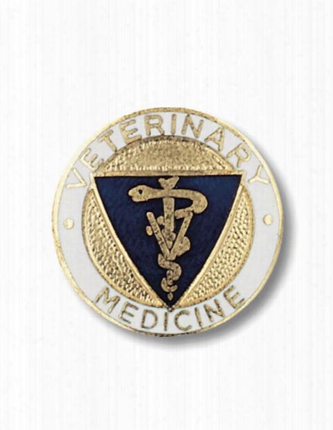 Prestige Medical Prestige Medical Veterinary Medicine Pin - Unisex - Medical Supplies