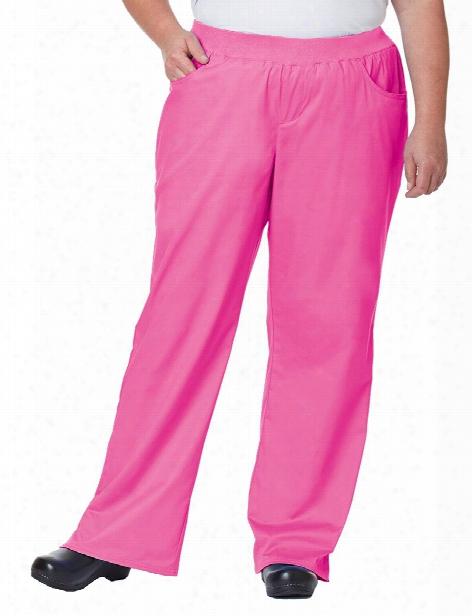 Tafford Clearance Tafford Plus Flare Leg Scrub Pant - Posh Pink - Female - Women's Scrubs