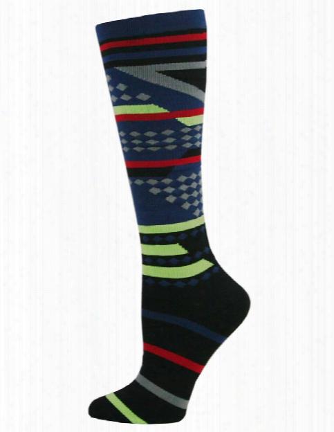 Think Medical Mens Compression Socks - Aztec Stripe - Unisex - Women's Scrubs