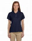 Alpha Broder Chestnut Hill Ladies Performance Plus Pique Polo - Ink - unisex - Corporate Apparel