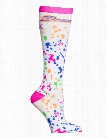 Cherokee Cherokee Splatter Around Compression Knee High Socks - female - Women's Scrubs