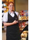 Edwards Edwards Black Bib Apron - unisex - Chefwear