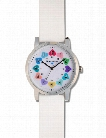 Nurse Mates Nurse Mates White Kate Hearts Watch - female - Medical Supplies