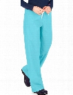 Urbane Essentials Drawstring Scrub Pant - Aqua - female - Women's Scrubs