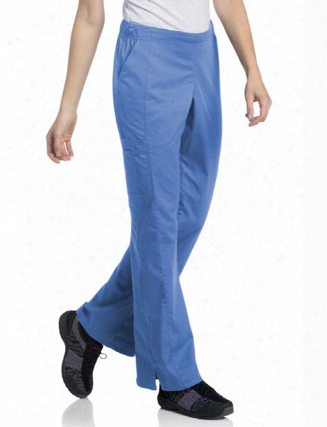 Urbane Uflex Cargo Scrub Pant - Ceil - Female - Women's Scrubs