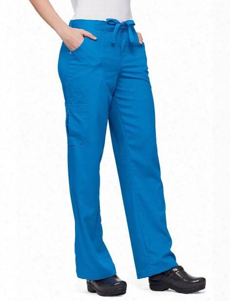Urbane Ultimate Bailey Cargo Scrub Pant - Brilliant Blue - Female - Women's Scrubs