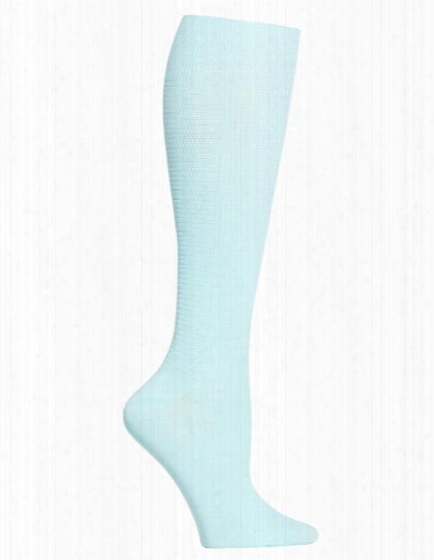 Cherokee Legwear True Support Compression Socks - Aqua - Female - Women's Scrubs