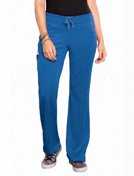 Smitten Bliss Electric Scrub Pant - Royal - Female - Women's Scrubs