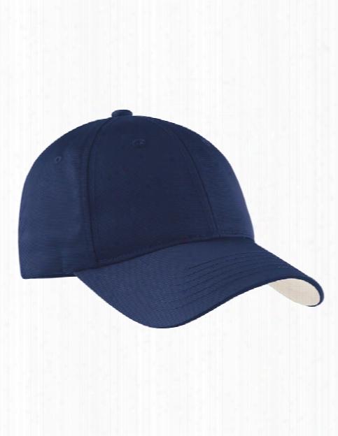 Sport-tek Dry Zone Nylon Cap - True Navy - Unisex - Corporate Apparel