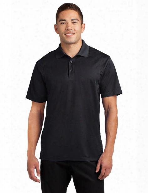 Sport-tek Micropique Sport-wick Polo - Black - Male - Corporate Apparel