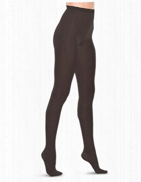 Therafirm 20-30 Mmhg Compression Pantyhose - Black - Female - Women's Scrubs