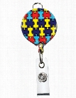 Prestige Medical Retracteze® ID Holder - Autism Awareness - unisex - Medical Supplies