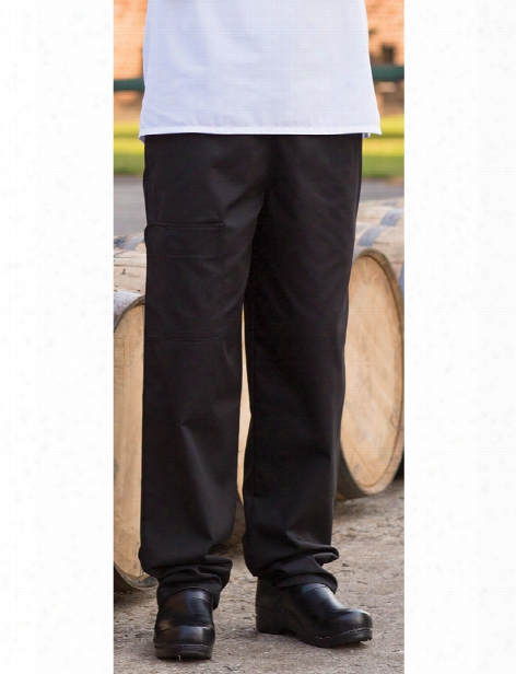 Uncommon Threads Modern Cargo Chef Pant - Black - Unisex - Chefwear