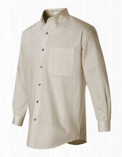 Uniform Warehouse S&s Activewear Featherlite Stain-resistant Twill Shirt - Artic White - Unisex - Chefwear