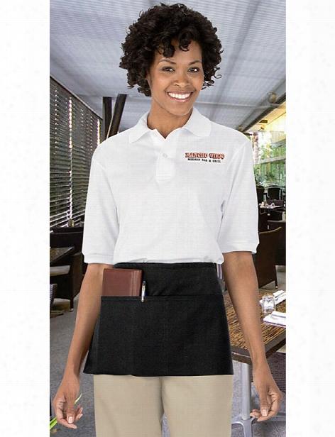 Uniform Warehouse Uniform Warehouse Two Pocket Waist Apron - Unisex - Chefwear