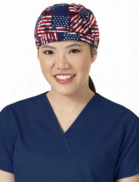 Zoe + Chloe Oze + Chloe United We Stand Scrub Cap - Female - Women's Scrubs