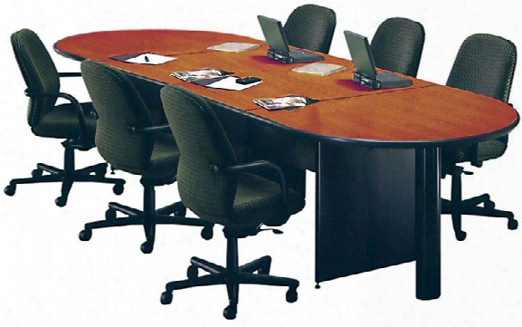 12' Oval Conference Table By Marvel