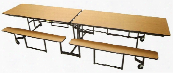 12' Portable Cafeteria Table By Mitchell