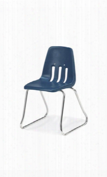 "12"" Sled Base Stack Chair By Virco"