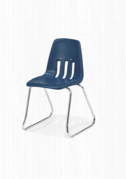 """14"""" Sled Base Stack Chair By Virco"""