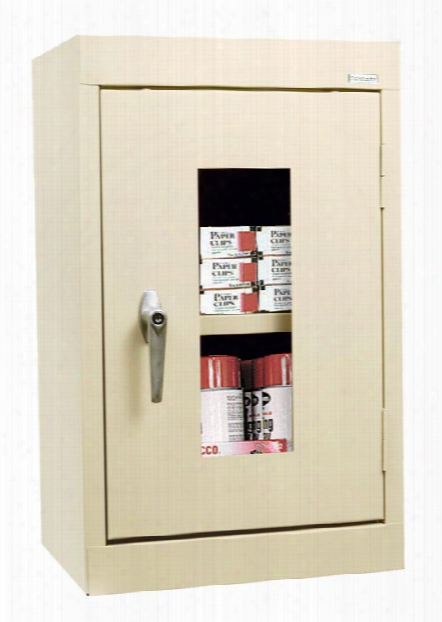 """16""""w X 12""""d X 26""""h Clear View Wall Cabinet By Sandusky Lee"""