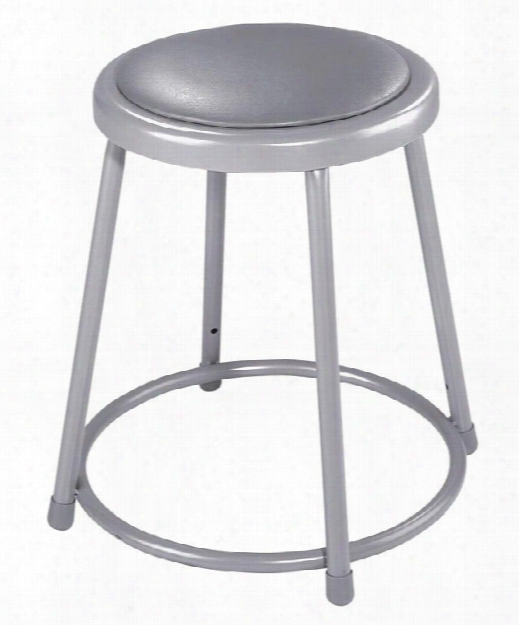 "18"" Padded Stool By National Public Seating"