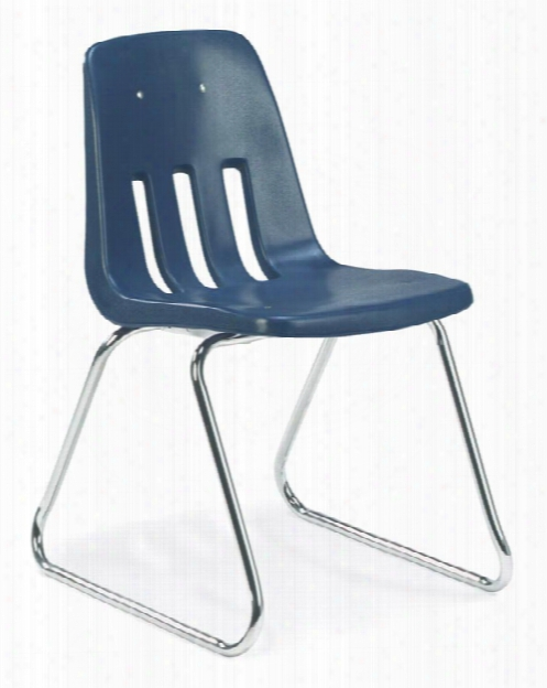 "18"" Sled Bse Stack Chair By Virco"