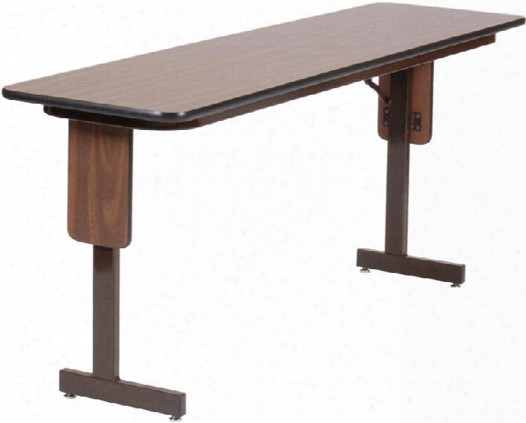 "18"" X 60"" Panel Leg Seminar Table By Correll"