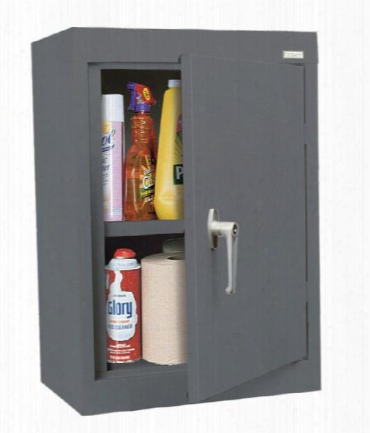 "18""w X 12""d X 26""h Solid Door Wall Cabinet By Sandusky Lee"