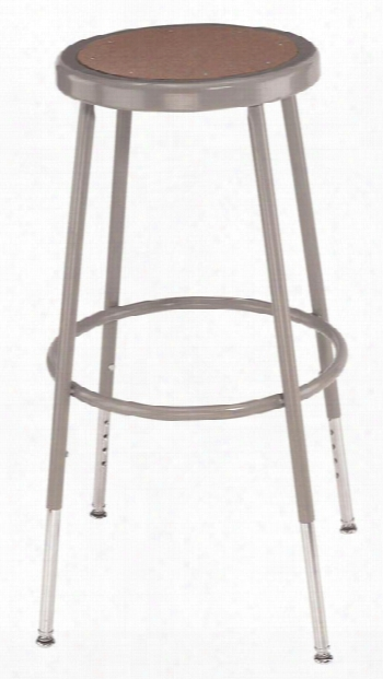 "19""-27"" Adjustable Height Stool By National Public Seating"