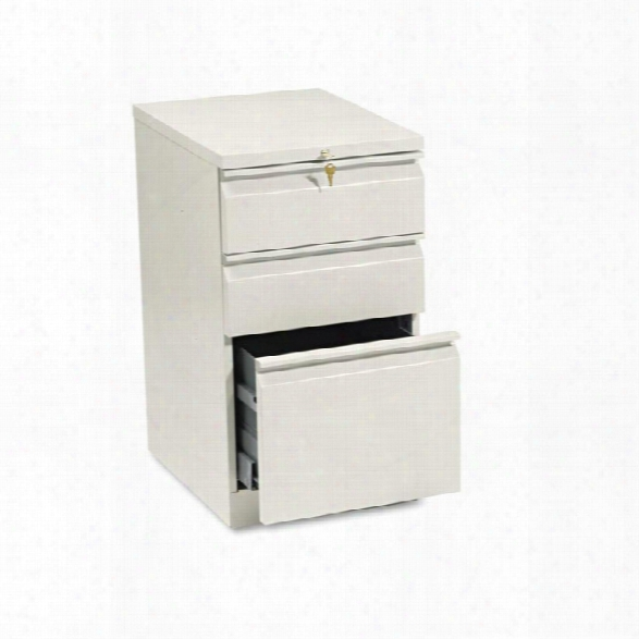 "20""d Three Drawer Mobile File By Hon"