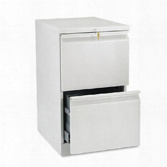 "20""d Two Drawer Mobile File By Hon"