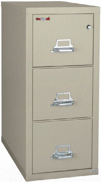 3 Drawer Letter Size Fireproof File By Fireking