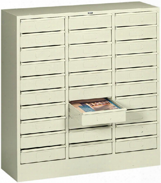 30 Drawer Letter Size Organizer By Tennsco