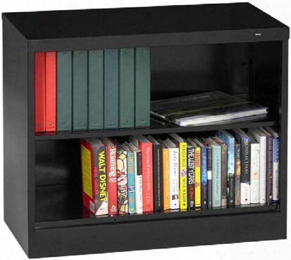 """30""""h X 18""""d Heavy Duty Steel Bookcase By Tennsco"""