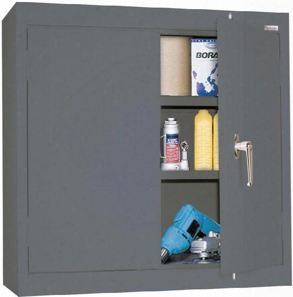 "30""w X 12""d X 30""h Solid Door Wall Cabinet By Sandusky Lee"