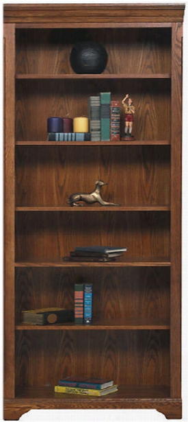 """32""""w X 15""""d X 79""""h Open Bookcase By Wilshire Furniture"""