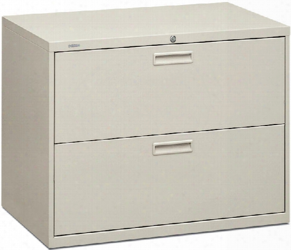 """36""""w 2 Drawer Lateral File By Hon"""