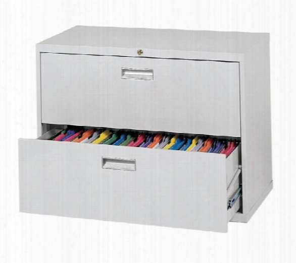 """36""""w 2 Drawer Lateral File By Sandusky Lee"""