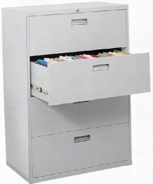 "36""w 4 Drawer Lateral File By Sandusky Lee"