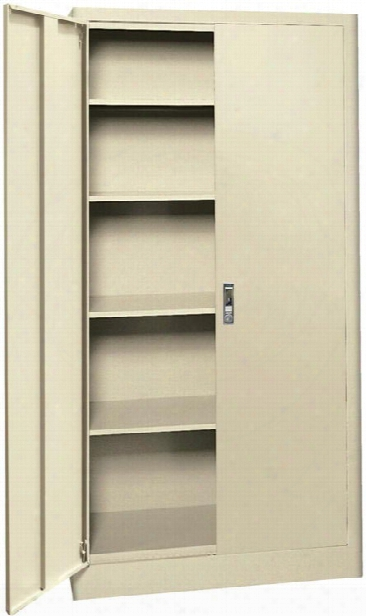 "36""w X 18""d X 72""h Radius Edge Storage Cabinet By Sandusky Lee"