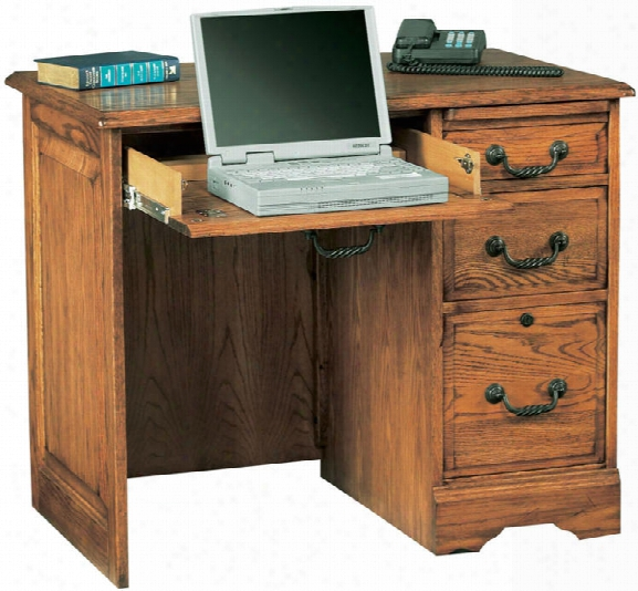 """36""""w X 23""""d X 30""""h Solid Wood Compact Desk By Wilshire Furniture"""
