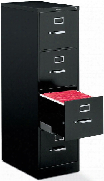 "4 Drawer 25""d Letter Size Vertical File By Hon"