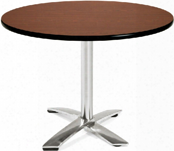 """42"""" Round Flip Top Table By Ofm"""