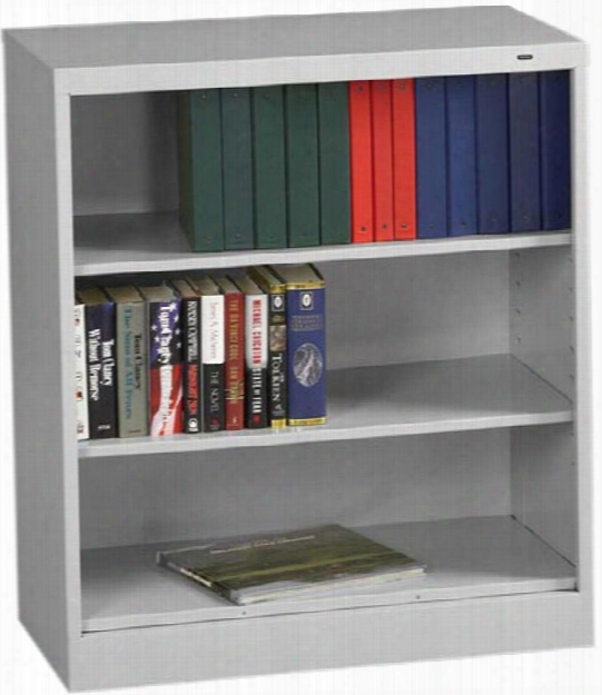 "42""h X 18""d Heavy Duty Steel Bookcase By Tennsco"
