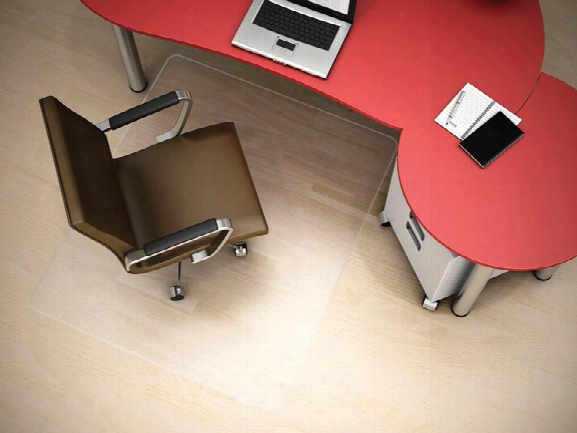 "46"" X 60"" Rectangular Chairmat For Hard Floors By Deflecto"