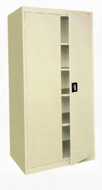"46""w X 24""d X 78""h Storage Cabinet By Sandusky Lee"