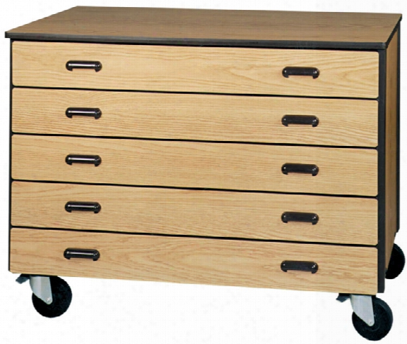 5 Drawer Mobile Storage Cart By Ironwlod